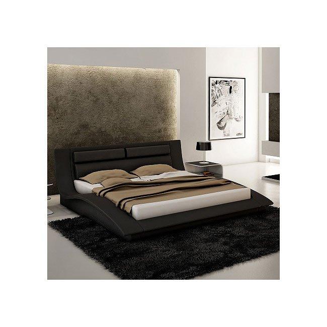 Wave Platform Bedroom Set Black Jm Furniture Furniture