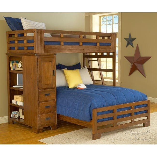 Heartland Student Loft Bed (Twin/ Full)