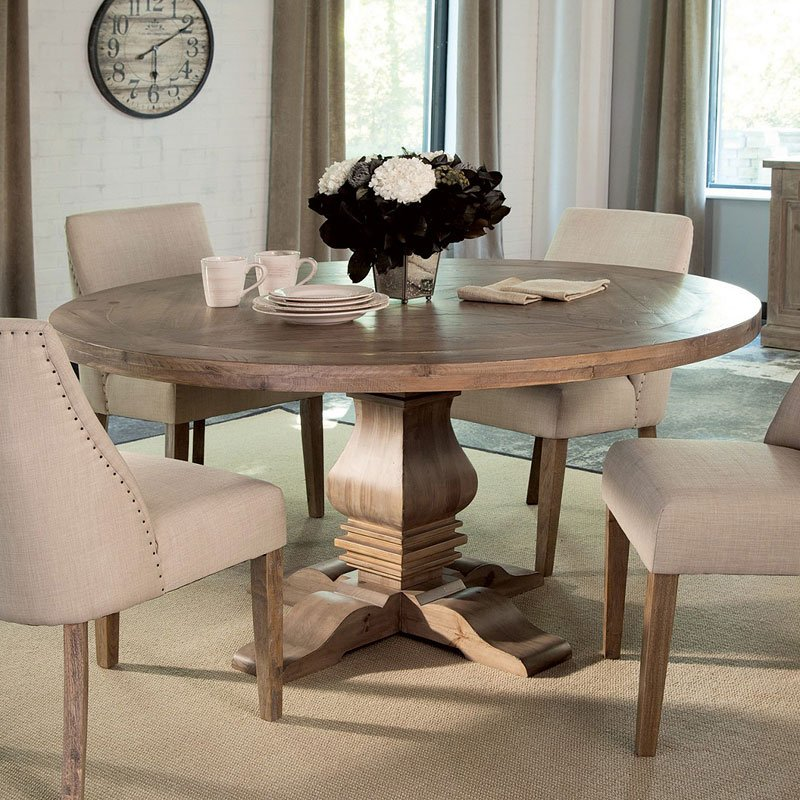 Florence Round Dining Table Coaster Furniture 2 Reviews Furniture