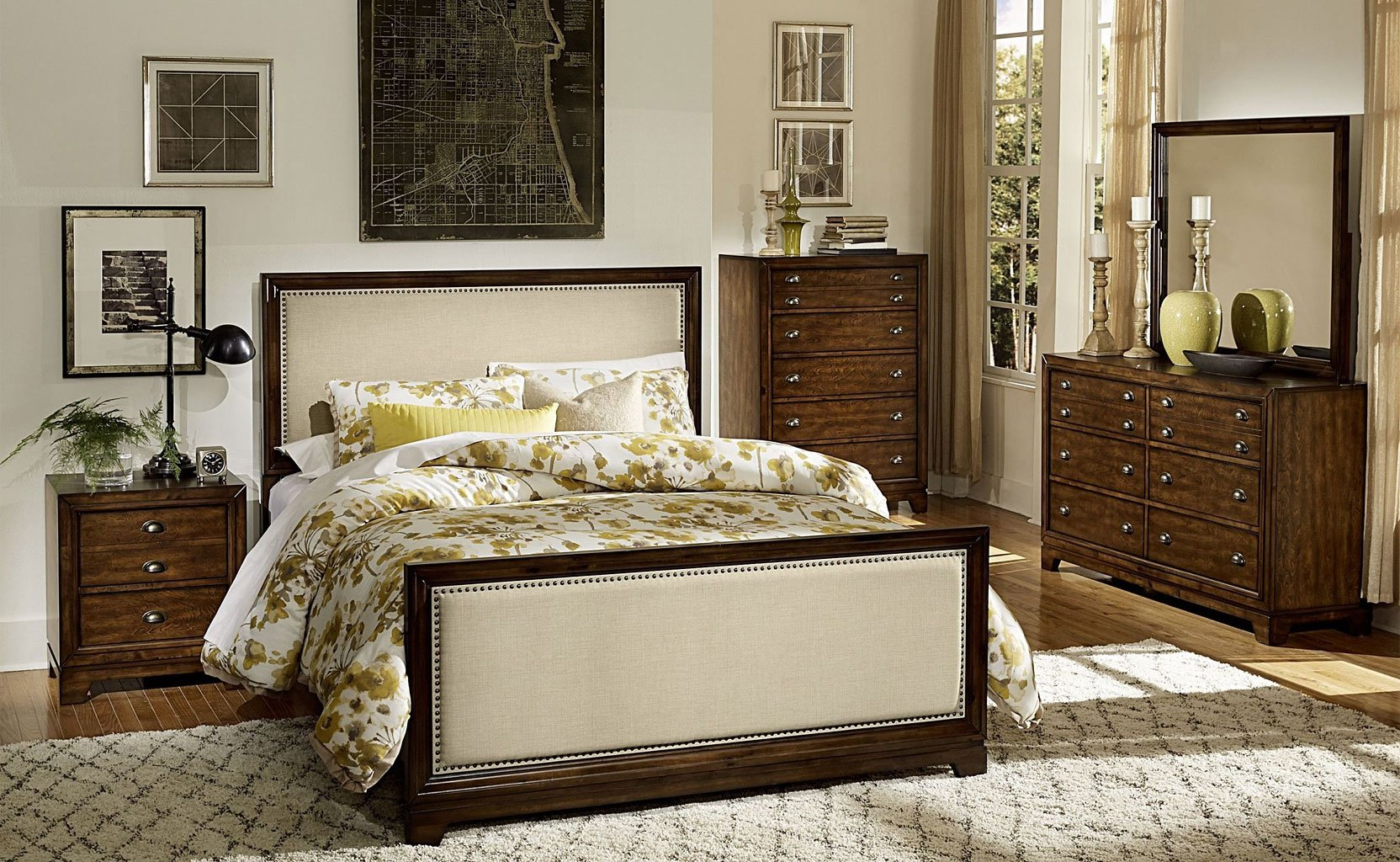 Bernal Heights Panel Bedroom Set