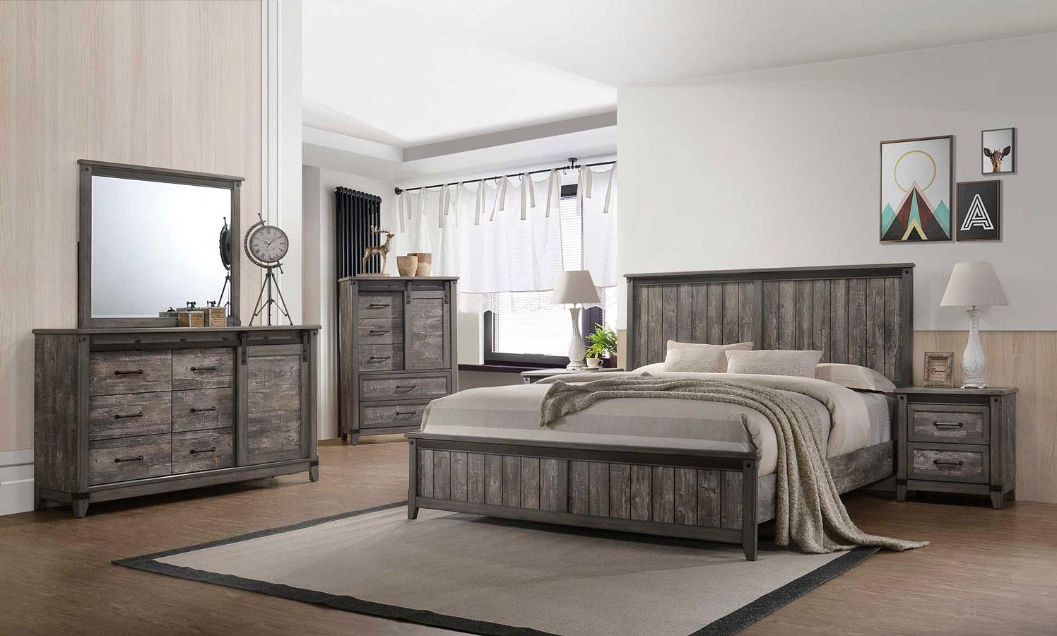 Laramie Panel Bedroom Set