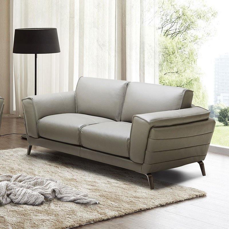 Italian Living Room Furniture Sets: Berlin Italian Leather Living Room Set JM Furniture