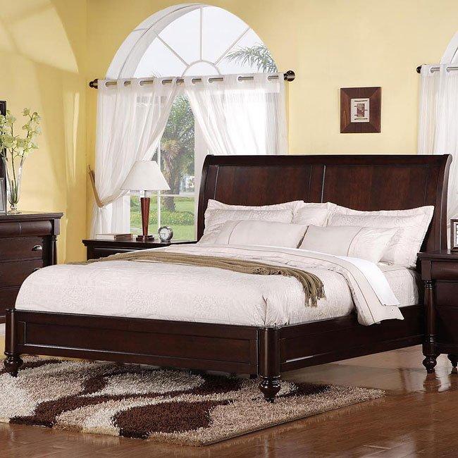 Harrison R Sleigh Bed