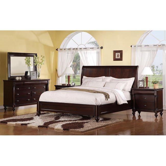 Harrison R Sleigh Bedroom Set