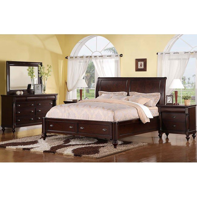Harrison R Storage Bedroom Set