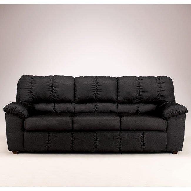 Sha-Shou - Black Sofa