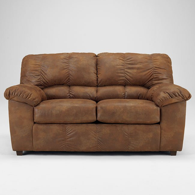 Navigator - Saddle Loveseat