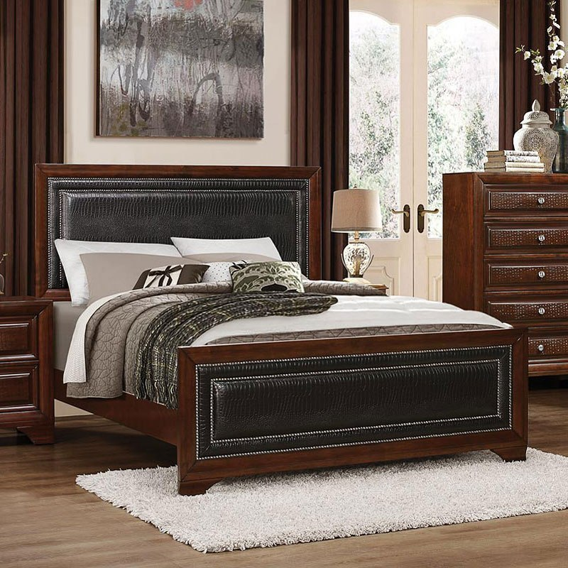 Owens panel bed homelegance furniture cart - Ashley wilkes bedroom collection ...