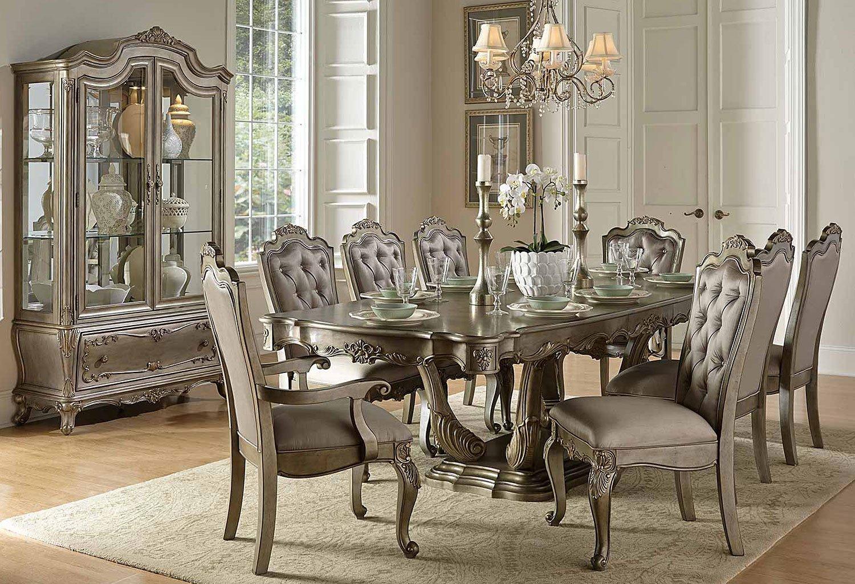 dining room set up ideas | Florentina Dining Room Set Homelegance, 1 Reviews ...