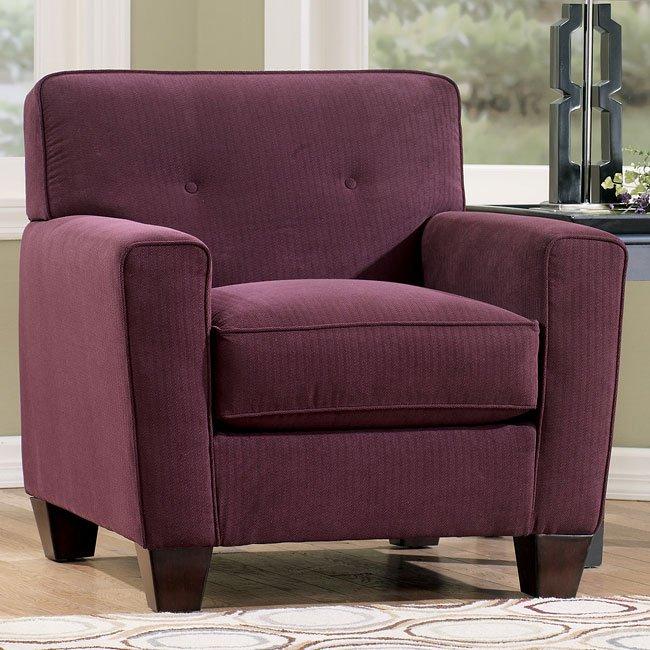 Danielle - Eggplant Chair