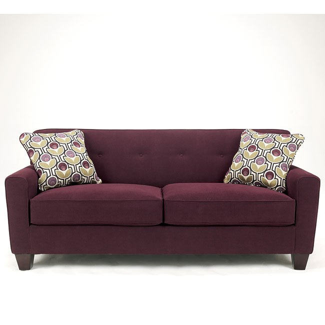 Danielle - Eggplant Sofa