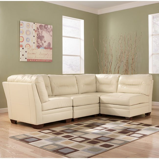 DuraBlend - Ivory Modular Sectional