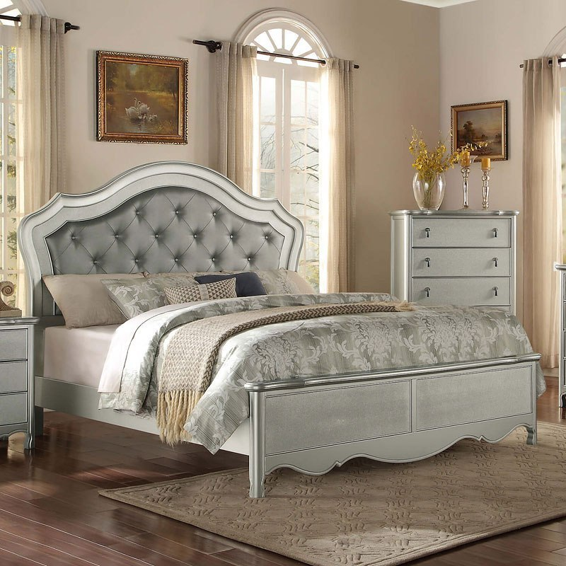 Toulouse Panel Bedroom Set Homelegance Furniture Cart