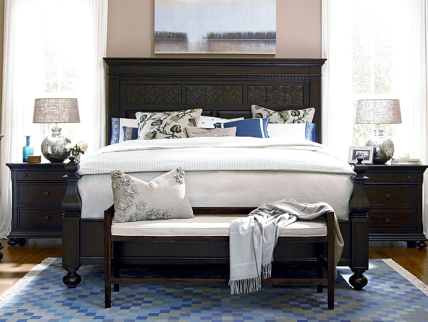 Down Home Aunt Peggys Bedroom Set (Molasses) Paula Deen Home ...