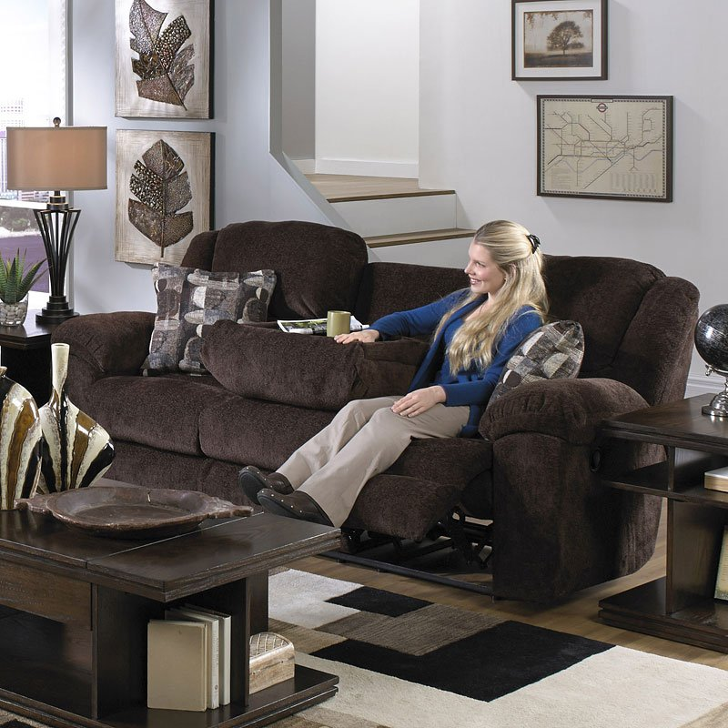 Astounding Transformer Triple Reclining Sofa W Drop Down Table Chocolate Pabps2019 Chair Design Images Pabps2019Com