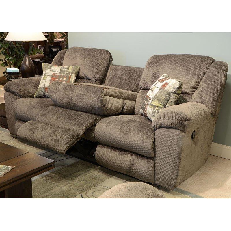 transformer triple reclining sofa w drop down table seal rh furniturecart com triple reclining sofas leather triple reclining sofas fabric