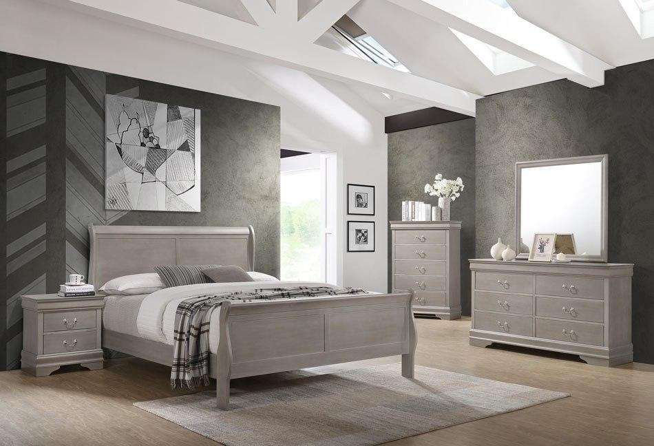 Grayson Sleigh Bedroom Set