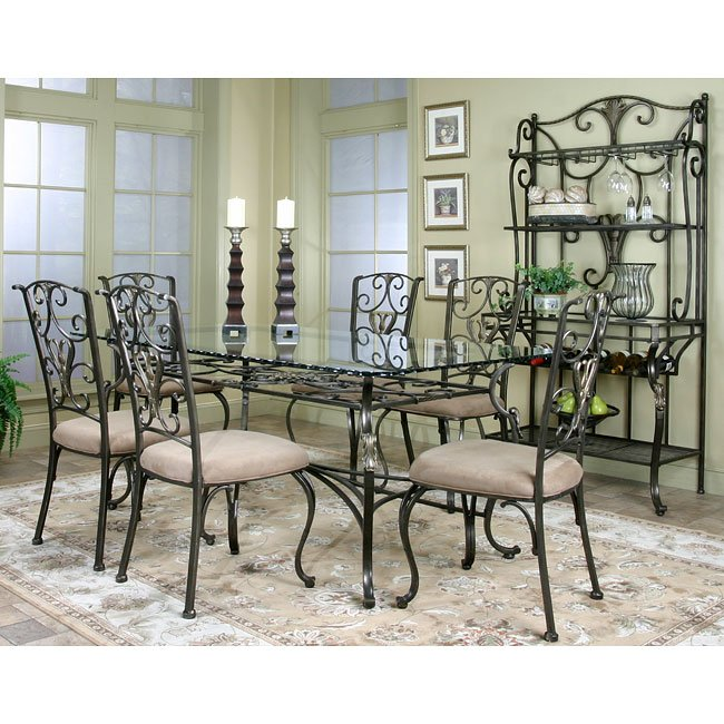 Wescot Rectangular Dining Room Set