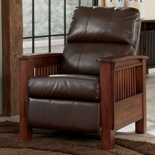 Santa Fe - Bark High Leg Recliner