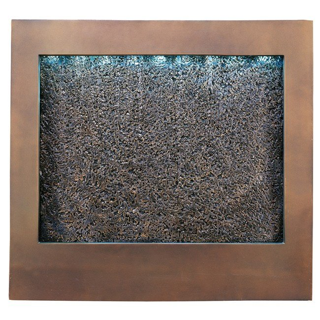 Central Square Indoor Wall Fountain (Bronze)