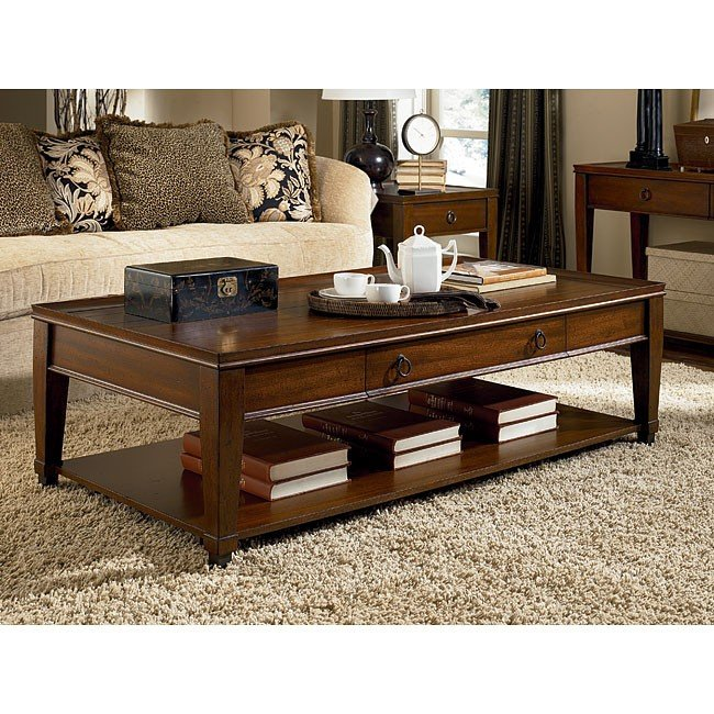 Sunset Valley Rectangular Occasional Table Set Hammary Furniture Cart