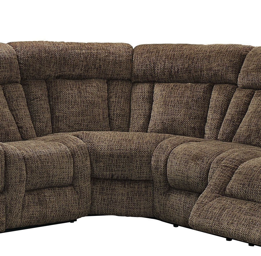 Laura Modular Power Reclining Sectional (Chocolate) New