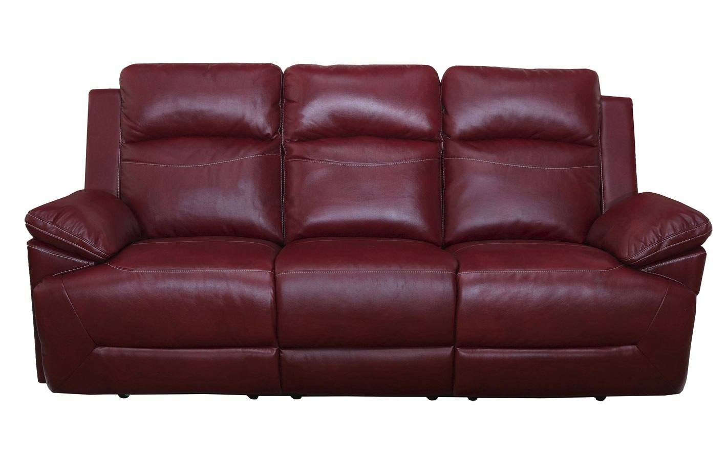 Cortez Dual Reclining Sofa (Red)