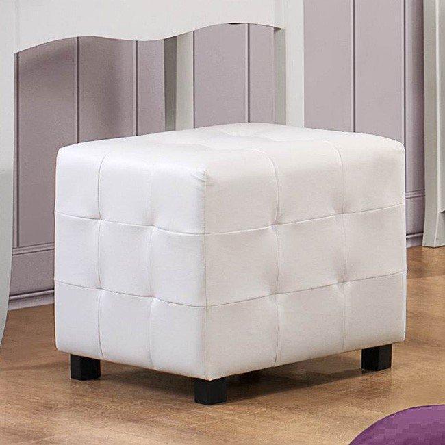 Sparkle Ottoman Cube