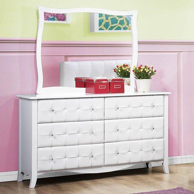 Sparkle Youth Upholstered Bedroom Set Homelegance