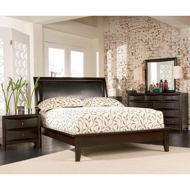 Phoenix Platform Bedroom Set