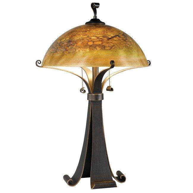 Sante Fe Table Lamp (Chocolate Caramel)