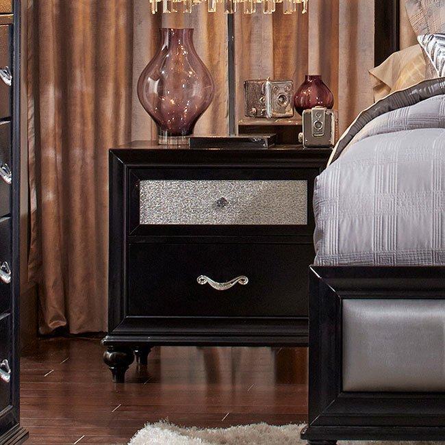 Barzini Upholstered Bed Coaster Furniture