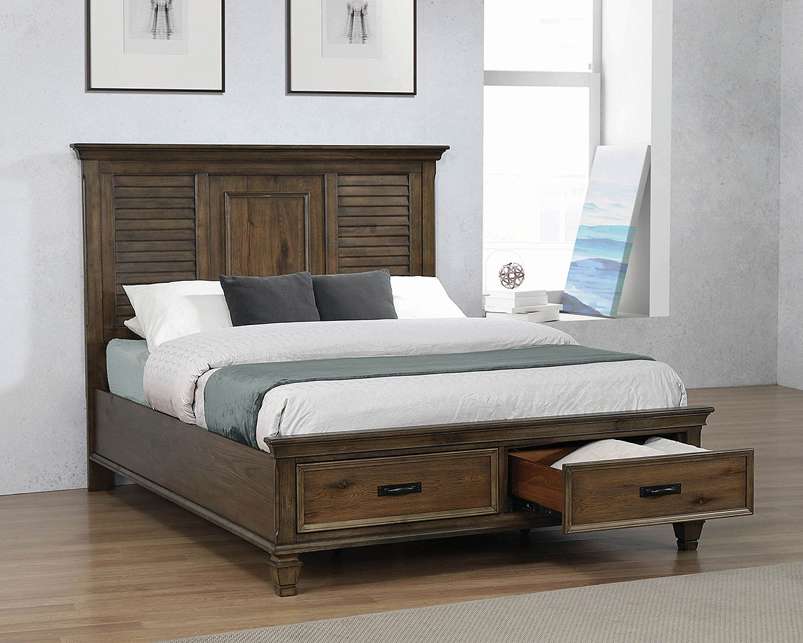 Franco Storage Bedroom Set Coaster Furniture Furniture Cart