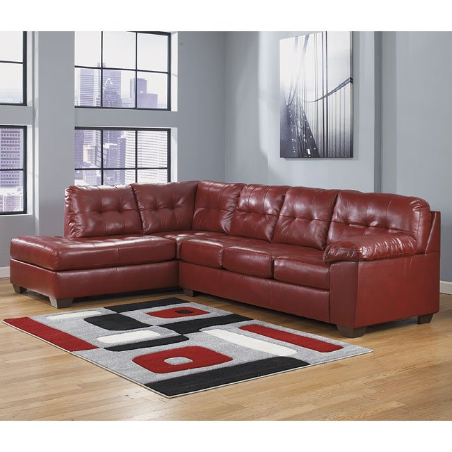 Alliston DuraBlend Salsa Sectional w/ Left Chaise