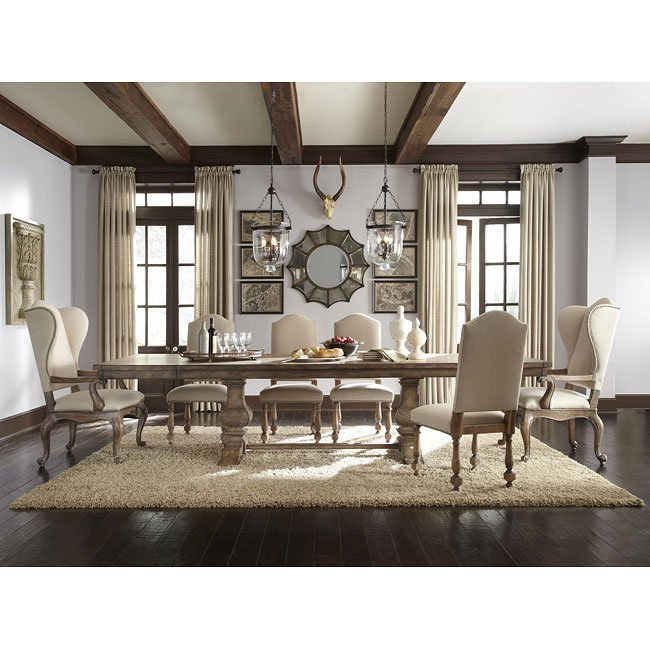 pulaski furniture dining room set | Desdemona Dining Room Set W/ Amethea Chairs Pulaski ...