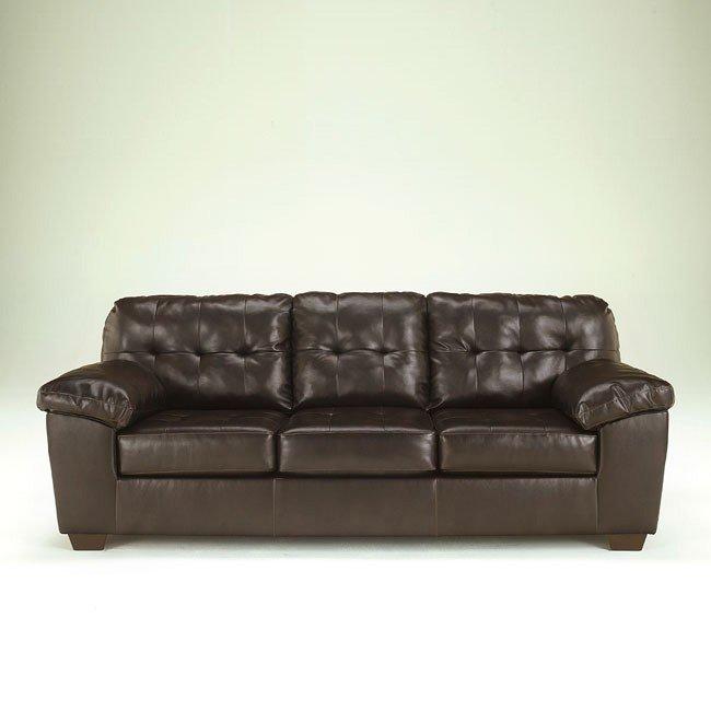 Alliston DuraBlend Chocolate Sofa