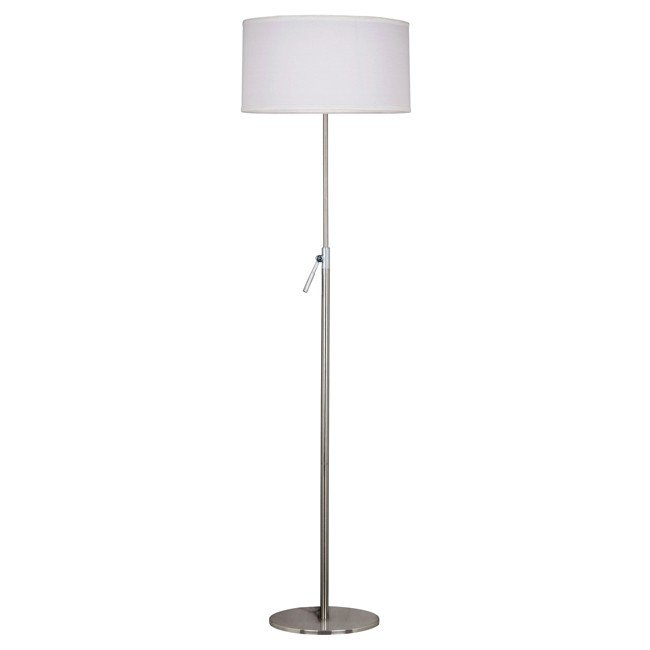 Propel Floor Lamp (Brushed Steel)