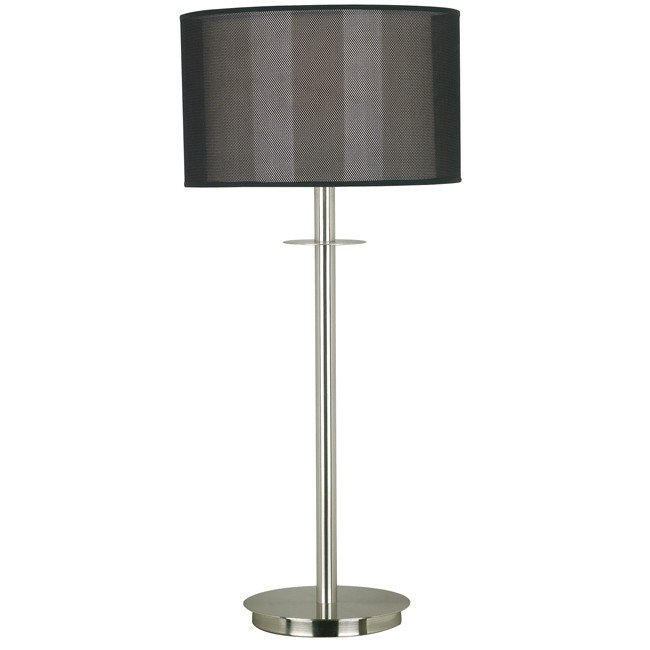 Marlowe Table Lamp (Brushed Steel)