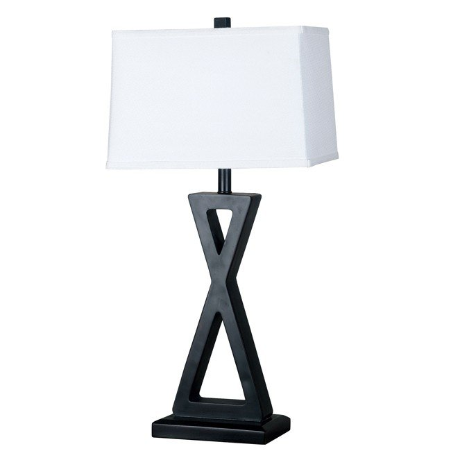 Logan 2-Pack Table Lamp (Oil Rubbed Bronze)