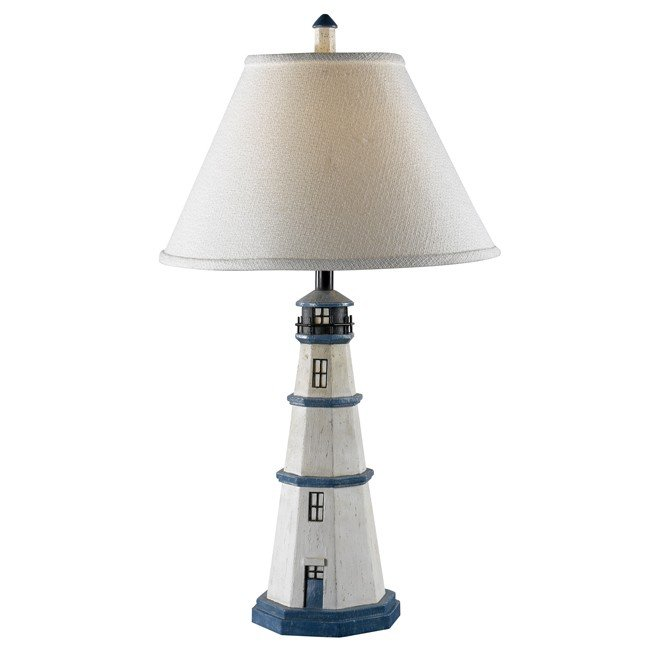 Nantucket Table Lamp (Antique White)