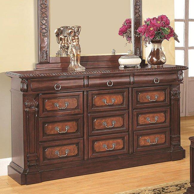 Grand prado dresser coaster furniture 1 reviews furniture cart for Coaster bedroom furniture reviews