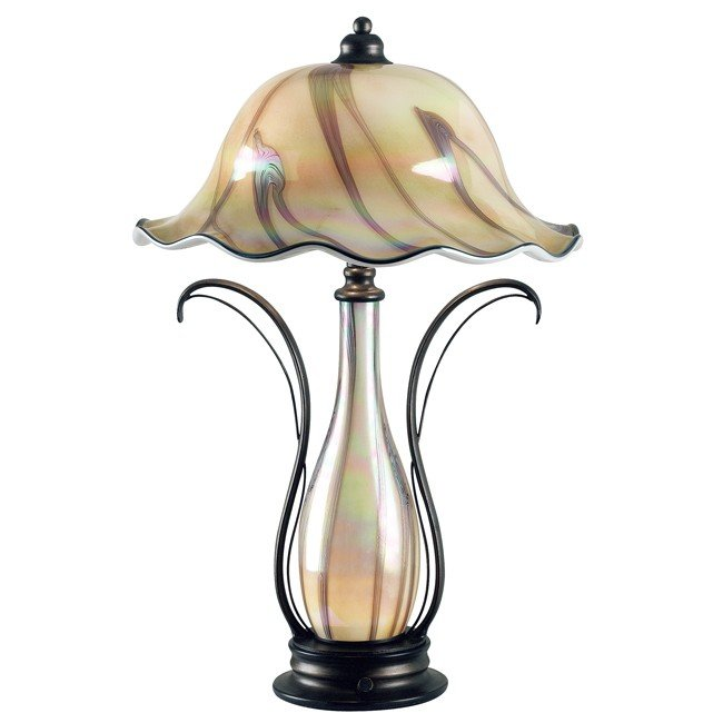 Inverness Table Lamp (Tuscan Silver)