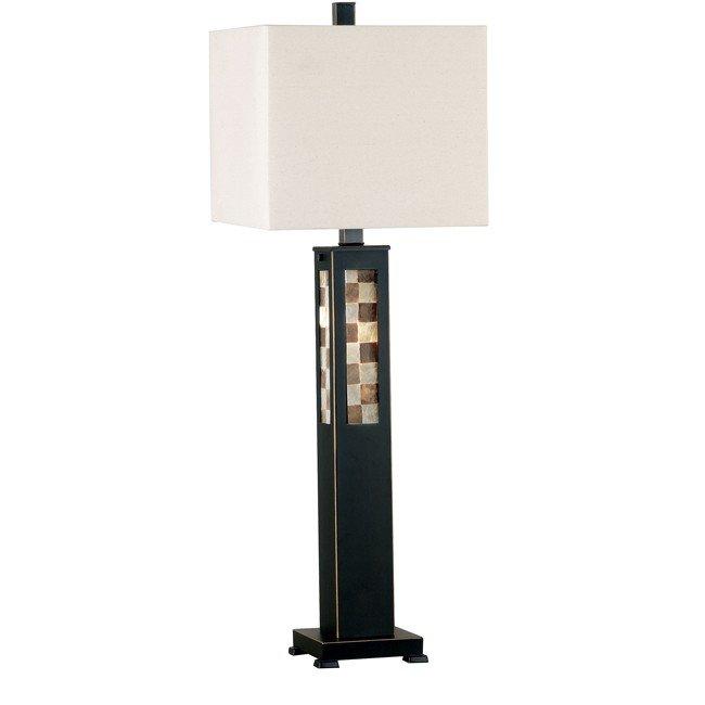 Windowpane Table Lamp (Oil Rubbed Bronze)