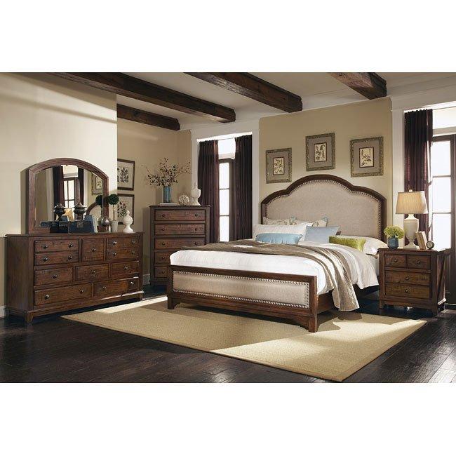 Laughton Upholstered Bedroom Set