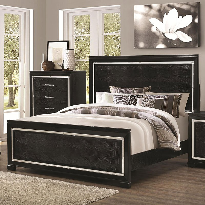 Zimmer Panel Bedroom Set Coaster Furniture