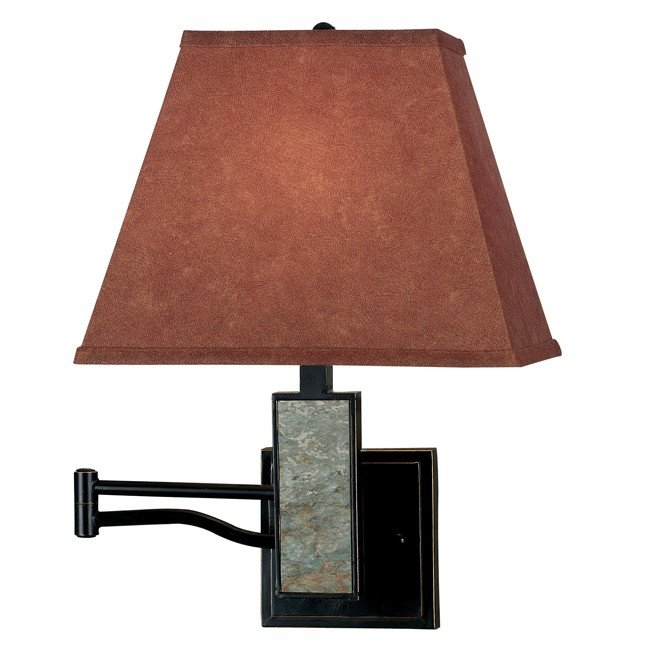 Dakota Wall Swing Arm Lamp (Oil Rubbed Bronze)