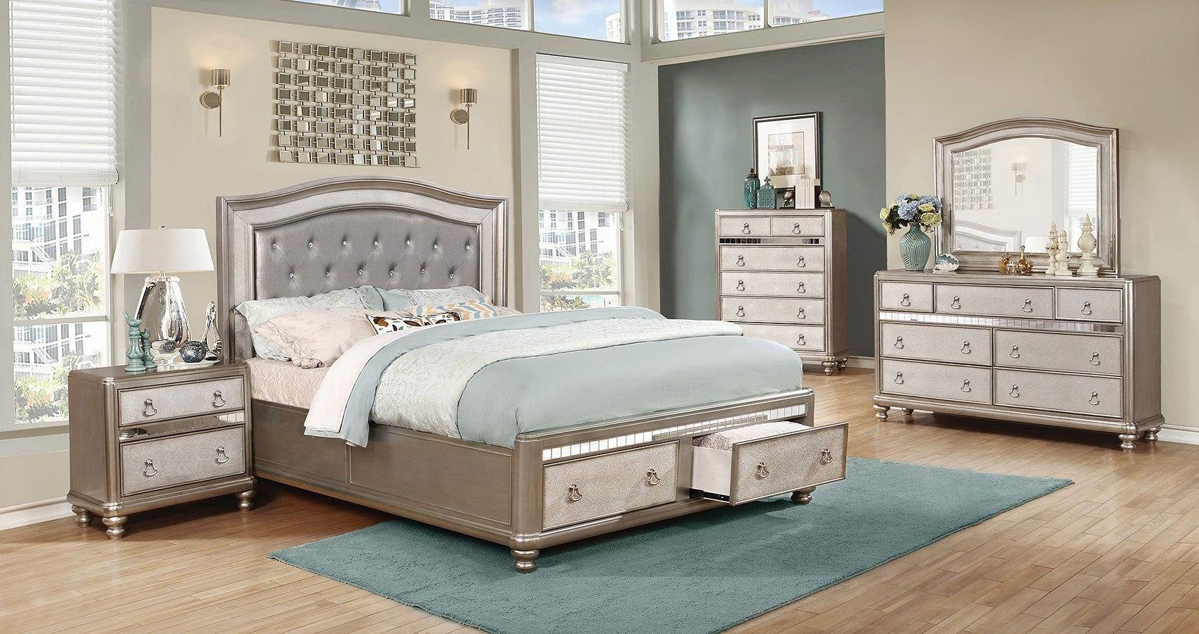 Bling Game Storage Bedroom Set Coaster Furniture