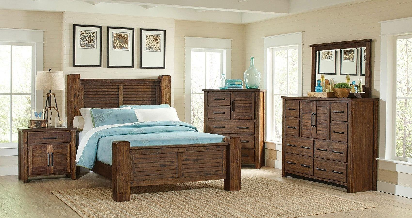Sutter Creek Poster Bedroom Set Coaster Furniture