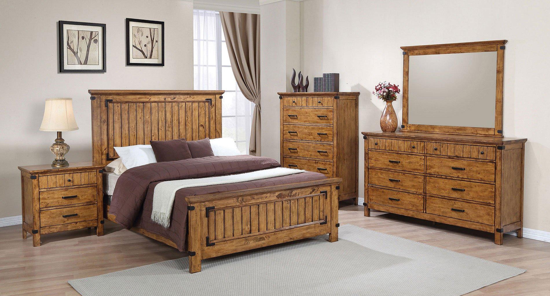 Brenner panel bedroom set coaster furniture 1 reviews furniture cart for Coaster bedroom furniture reviews