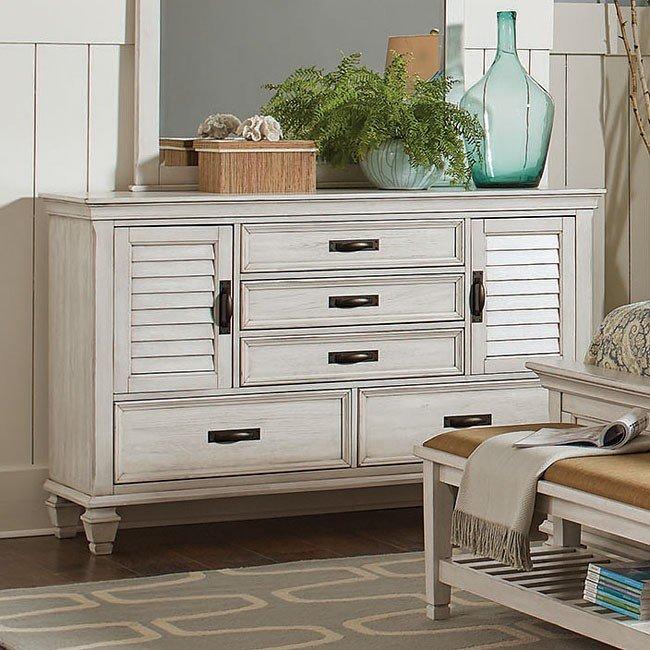 Liza dresser coaster furniture 1 reviews furniture cart for Coaster bedroom furniture reviews